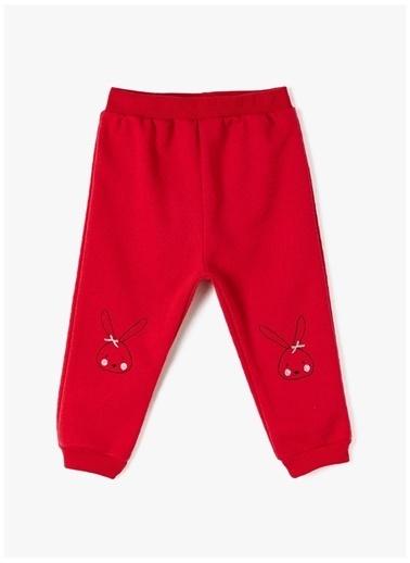 Koton Sweatpant Kırmızı
